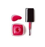 Red nail polish Royalty Free Stock Photos