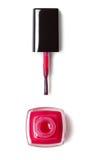 Red Nail polish Royalty Free Stock Photography