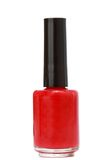 Red nail polish Stock Image