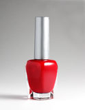 Red nail varnish Royalty Free Stock Images