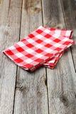 Red napkin Royalty Free Stock Photo