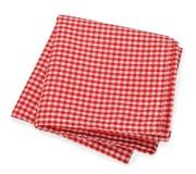 Red napkin Royalty Free Stock Photos