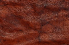 Red natural leather background Royalty Free Stock Photography