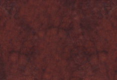 Red natural leather background Royalty Free Stock Image