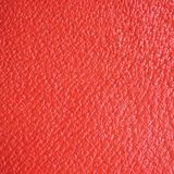 Red Natural Leather Texture Macro Background Royalty Free Stock Photo