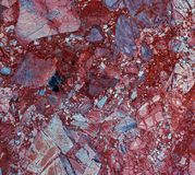 Red Natural Marble texture background stone. Red Natural Marble pattern texture abstract background, tile surface of marbles slate, granite stone from nature Stock Photography