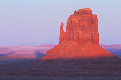 Red Navajo Sandstone of Monument Valley Royalty Free Stock Photography