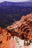 Red Navajo sandstone pinnacles Royalty Free Stock Photography