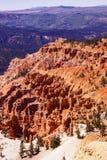 Red Navajo sandstone pinnacles Stock Images