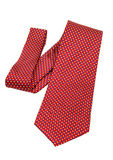 Red neck tie Royalty Free Stock Images