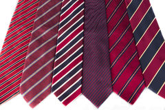 Red Neck Ties Stock Image