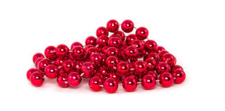 Red necklace Stock Photos