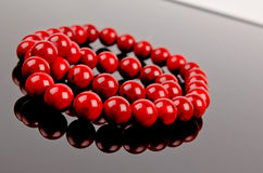 Red Necklace Stock Photography