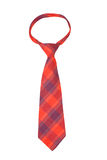 Red necktie Stock Images