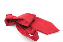 Red Necktie Stock Photo