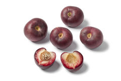 Red nectarines Stock Photography