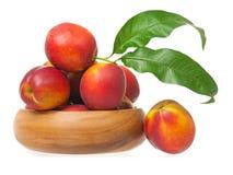 Red nectarines Stock Image
