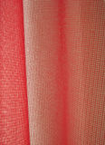 Red netting curtain Royalty Free Stock Image