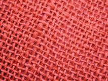 Red Netting Pattern Background Stock Photo