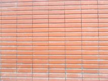 Red new ceramic brick wall textures Royalty Free Stock Photo