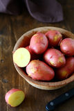 Red new potatoes in a bowl Stock Photos
