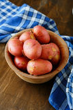 Red new potatoes Stock Photos