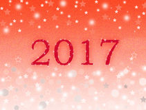 Red New year background Royalty Free Stock Photography