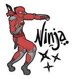 Red ninja Stock Images