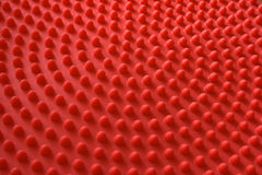 Red nipples, closeup up rubber material Stock Photography