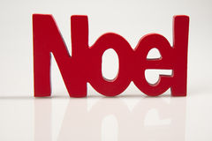 Red Noel Royalty Free Stock Images