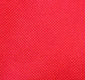 Red nonwoven fabric Stock Image