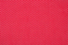 Red nonwoven fabric background Stock Photography