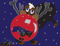 Red Nose Reindeer Stock Photos
