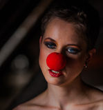 Red nose Royalty Free Stock Image