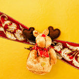 Red nose wrap Royalty Free Stock Photography