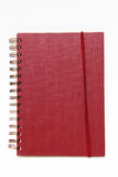 Red note book Stock Photography