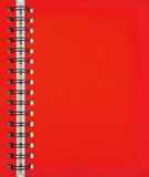 Red Note Book Stock Images