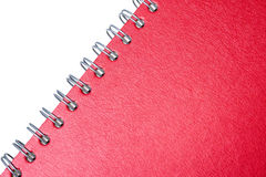 Red note book Royalty Free Stock Photo