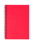 Red note book Royalty Free Stock Photos