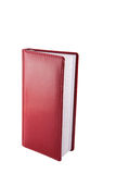 Red note. Book on a white background Stock Photography