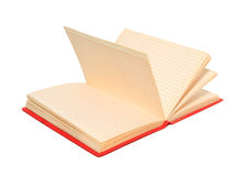 Red note pad Stock Image
