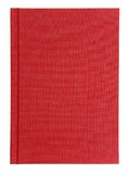Red Notebook. Closed notebook on a white background Stock Images