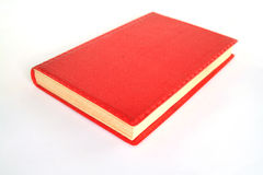 Red notebook Royalty Free Stock Images