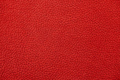Red nubuck leather Royalty Free Stock Photos