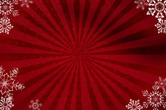 Red NY background. My illustration in photoshop. This illustration for design postcard on new year celebration Stock Photo