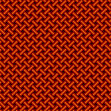 Red nylon rope braiding Royalty Free Stock Photography