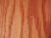 Red oak wood background Stock Images