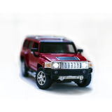 Red offroad (jeep) toy car Royalty Free Stock Photos