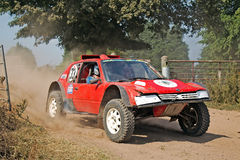 Red off roader Royalty Free Stock Photography