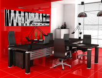 Red office Stock Photos